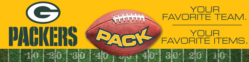 Packers Pack Your Favorite Team. Your Favorite Items.