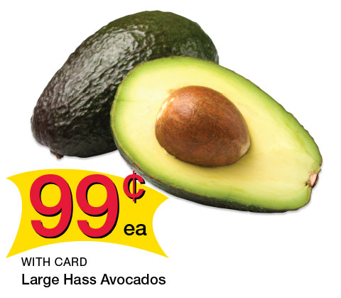 Large Hass Avocados | 99¢ ea