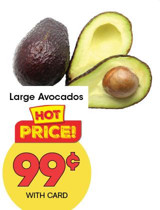 Large Avocados | 99¢
