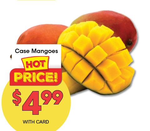 Case Mangoes   4.99