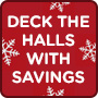Deck the Halls with Savings